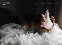 Сайт для фотографа - главная страница